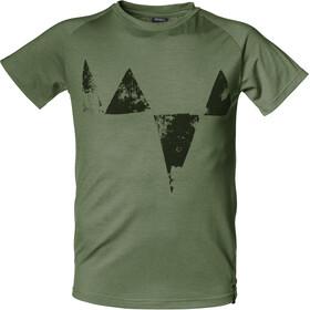 Isbjörn Big Peaks - T-shirt manches courtes Enfant - olive
